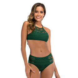2020 kobiet stroje kąpielowe koronki zestaw bikini Sexy dwa kawałki strój kąpielowy strój kąpielowy strój kąpielowy dla kobiety maillot de bain femme XXL 5