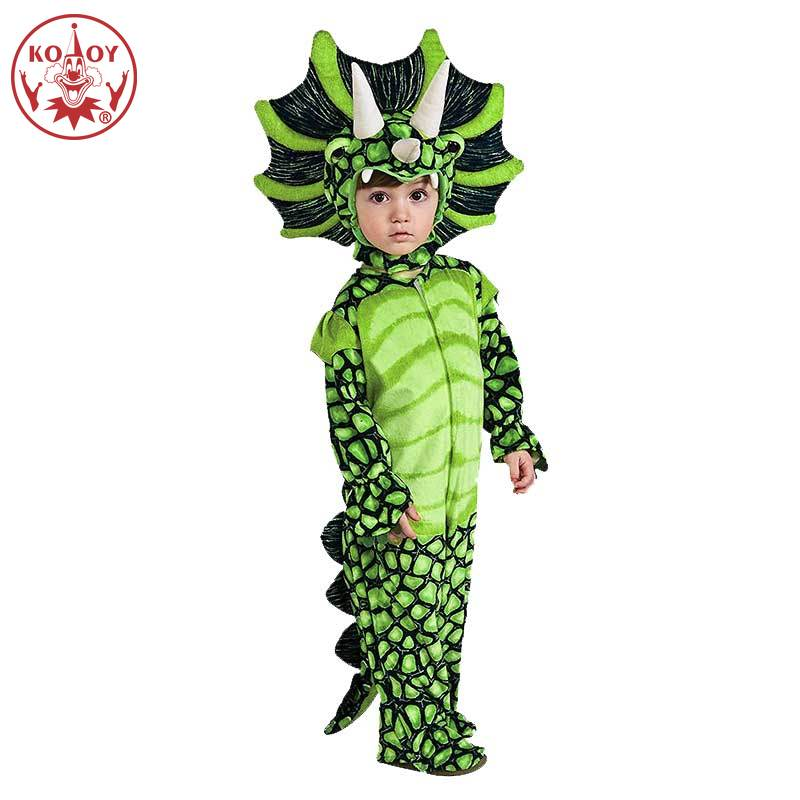 Kids Infant Toddler Triceratops Cosplay Costume Halloween Party Boys Girls T prorsus Jumpsuit Child Dinosaur Fancy