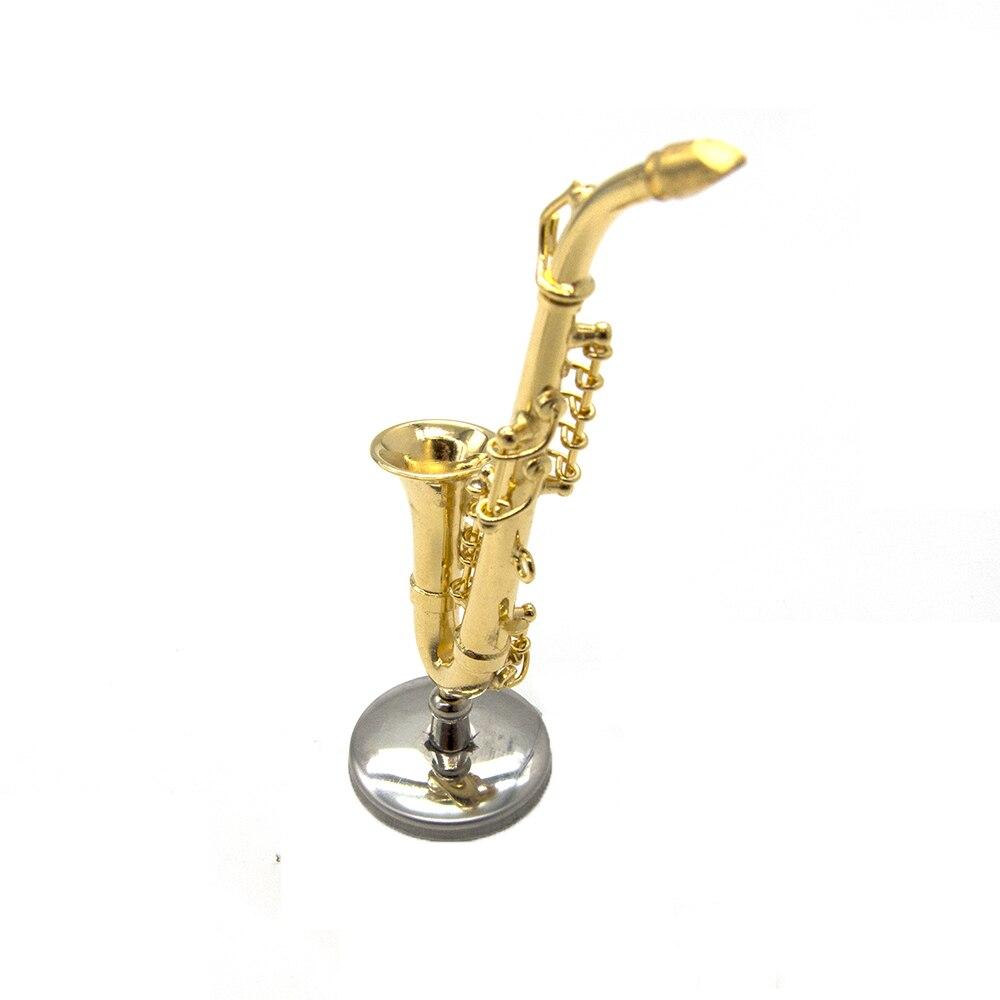 Miniatur Alt Saxophon Mini Musikinstrument als Dekoration