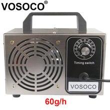 60 g/h generatore di ozono 48 g/h ozonizzatore portatile purificatore daria trattamento sterilizzatore aggiunta di ozono alla macchina di ozono formaldeide