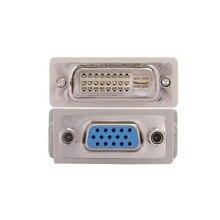To VGA Converter Socket-Adapter Female Dvi D Pin 1pc Dvi/24--1
