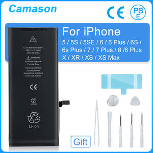 Camason Lithium Battery For iPhone 5 SE 6 6s 5s 7 8 Plus X XR XS Max High Capacity Replacement Batteries for iphone6