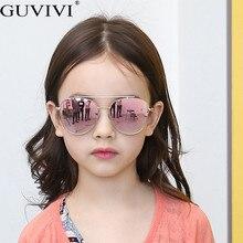 Steampunk Pilot Kids Sunglasses Boys Girls Luxury Vintage Children Sung