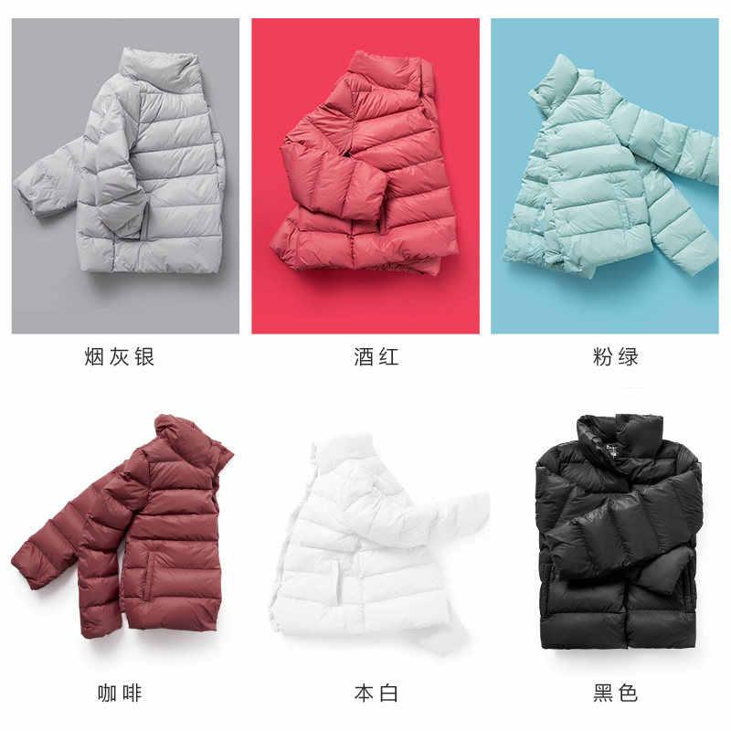 SEMIR Plus Größe 2XL 3XL Verdicken Winter Jacke Frauen 2019 Ultra Licht Unten Mantel Padded Jacken Schwarz Casual Kleidung Für frau