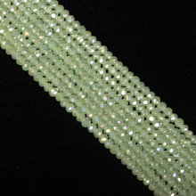 Emerald Green 190pcs 2mm Rondell Austrian Faceted Crystal Glass Beads, Bulk Beaded Spacer Beads For Bracelet Jewellery Making(China)