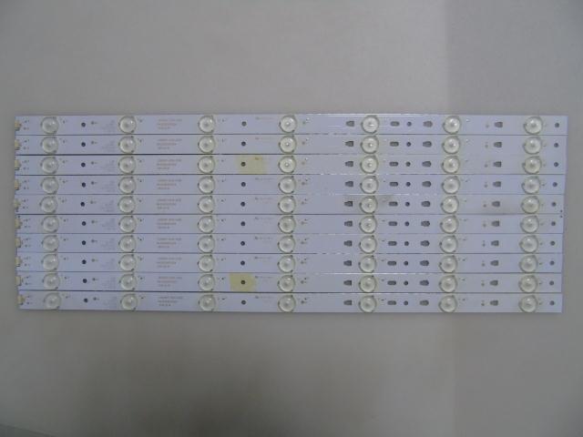 1set=10pieces LED Backlight Strip 7 Lamps For LED50D7-ZC14-01(B) Hai Er LED50A900 LD50U3000 D50MF7000 50S510 Screen V500HJ1-PE8