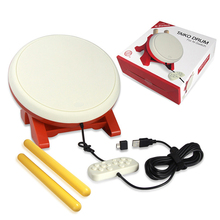цена на For Taiko Drum Compatible with N-Switch Family Home Game Drum with Sticks Video Games Accessories For Nintend Switch Game Drum