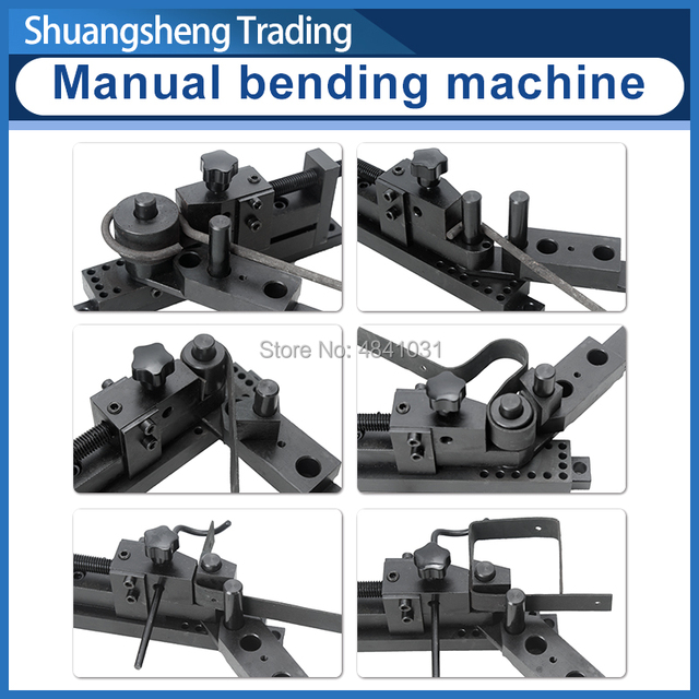 Cintreuse manuelle SIEG S/N:20012 machine à cintrer universelle cinq générations PLUS machine à cintrer mise à jour