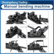 Sieg máquina de dobra manual p/n: 20012 máquina de dobra universal de cinco gerações plus