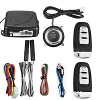 9Pcs Universal Auto Alarm System Fernbedienung Zentrale Türschloss Locking Wireless Entry System Kit Auto Auto Alarm-in Alarmanlage aus Kraftfahrzeuge und Motorräder bei