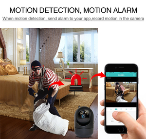 Image 5 - 3MP Home Security IP Camera wifi Auto Tracking IP Camera Wifi Motion Detection Two Way audio Mini CCTV Camera 1080P ipcam wifi