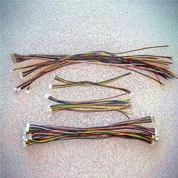 Мини микро JST 1,25 2/3/4/5/6/7/8/9/10/11/12 контактный разъем «мама» с проводом 1,25 мм 10 см 15 см 20 см один/двойной головка