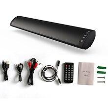 Беспроводной настенный HIFI аудио ТВ глубокий бас пульт дистанционного управления 3D объемный домашний кинотеатр USB звук Bluetooth динамик стерео
