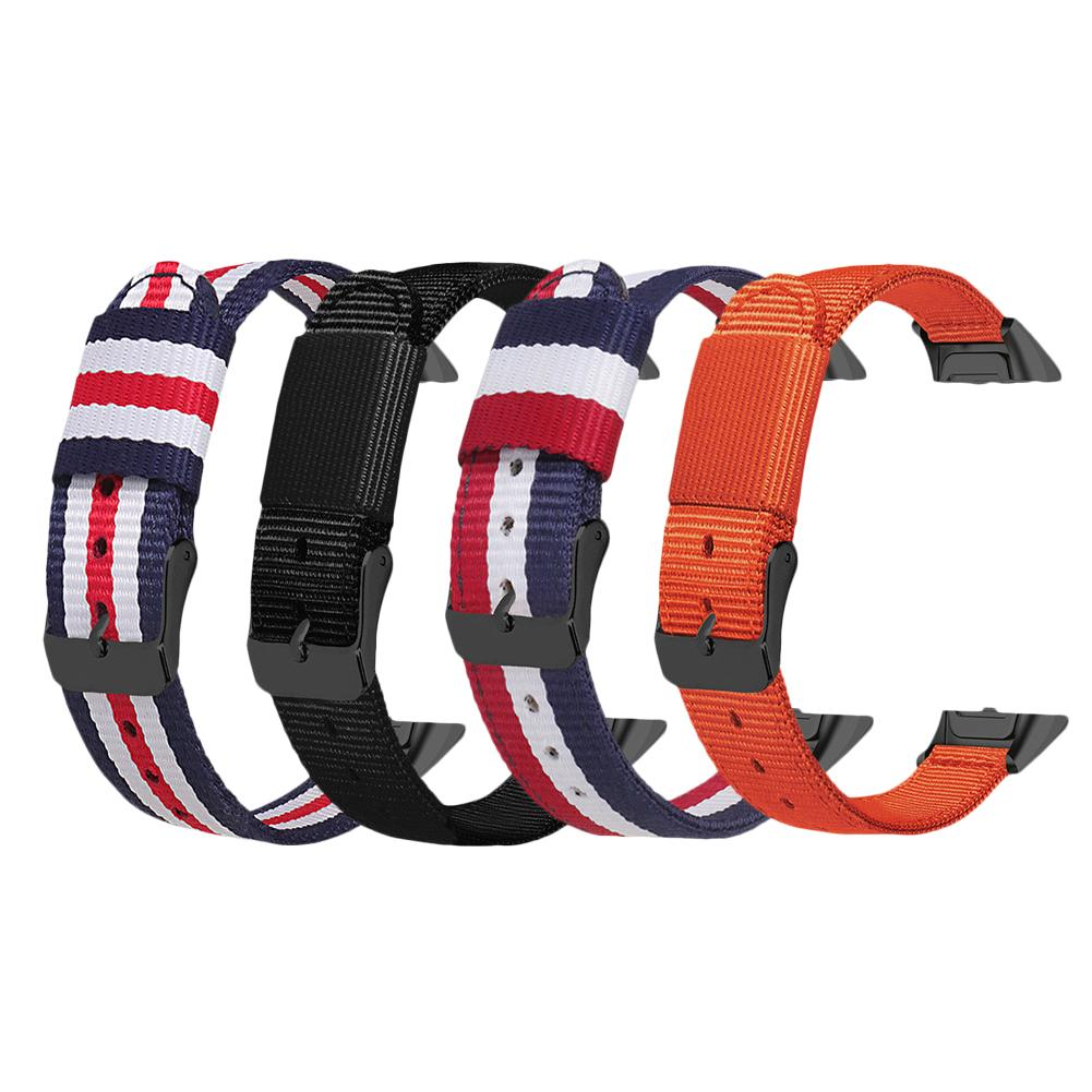12MM Nylon Replacement Wristband For Samsung Galaxy Fit SM-R370 Sports Watch Wrist Band Strap Smart Bracelet Accessories