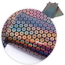 20*34 см узор в горошек переливающиеся синтетические кожаные, материалы для ручных поделок для изготовления сережек, 1Yc5373