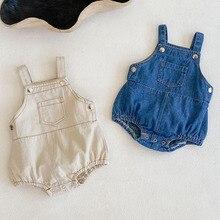 Newborn Rompers Cowboy Baby-Boy-Girl Summer Kids Infant Braces