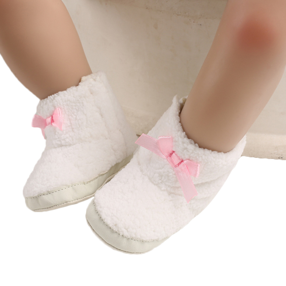 Newborn Baby Girl Warm Boots Kids Girl Winter Warm Snow Shoes