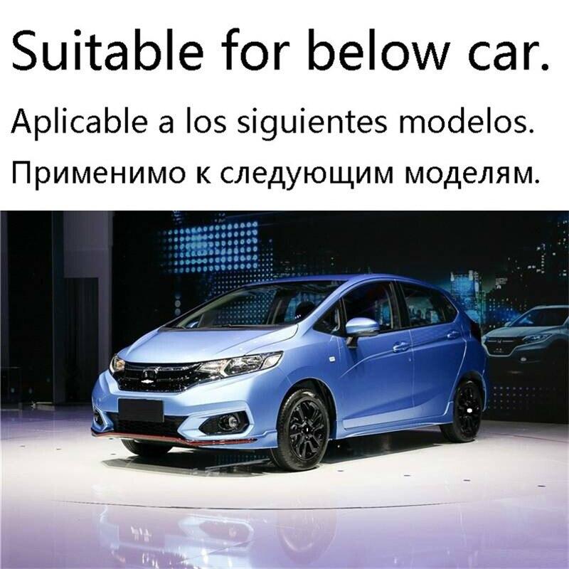 Sticker Coche Stijl Molding Accessoires Bumper Protector Parachoques Auto Modificatie Styling Mouldings 18 Voor Honda Fit - 2