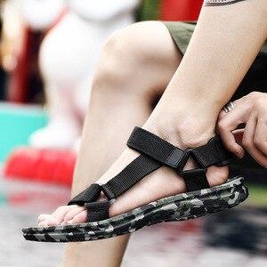 Image 3 - SHOFORT Scarpe Da Uomo Traspirante Selvaggio Degli Uomini Sandali Sandali Freddi Scarpe Da Spiaggia degli uomini di Estate Più Il Formato di Moda Allaperto Casual Zapatos De hombre