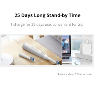 Image 5 - Ultra Sonic Electric Toothbrush SG 958 SEAGO 5 Mode 2 Min Smart Timer Waterproof With 3 Replaceable Brush Heads Teeth Whitening