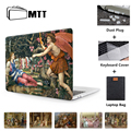 Чехол для ноутбука MTT для Macbook Air Pro 11 12 13 15 Retina с сенсорной панелью  2019 чехол с масляной краской для Mac book Pro 16 дюймов Funda