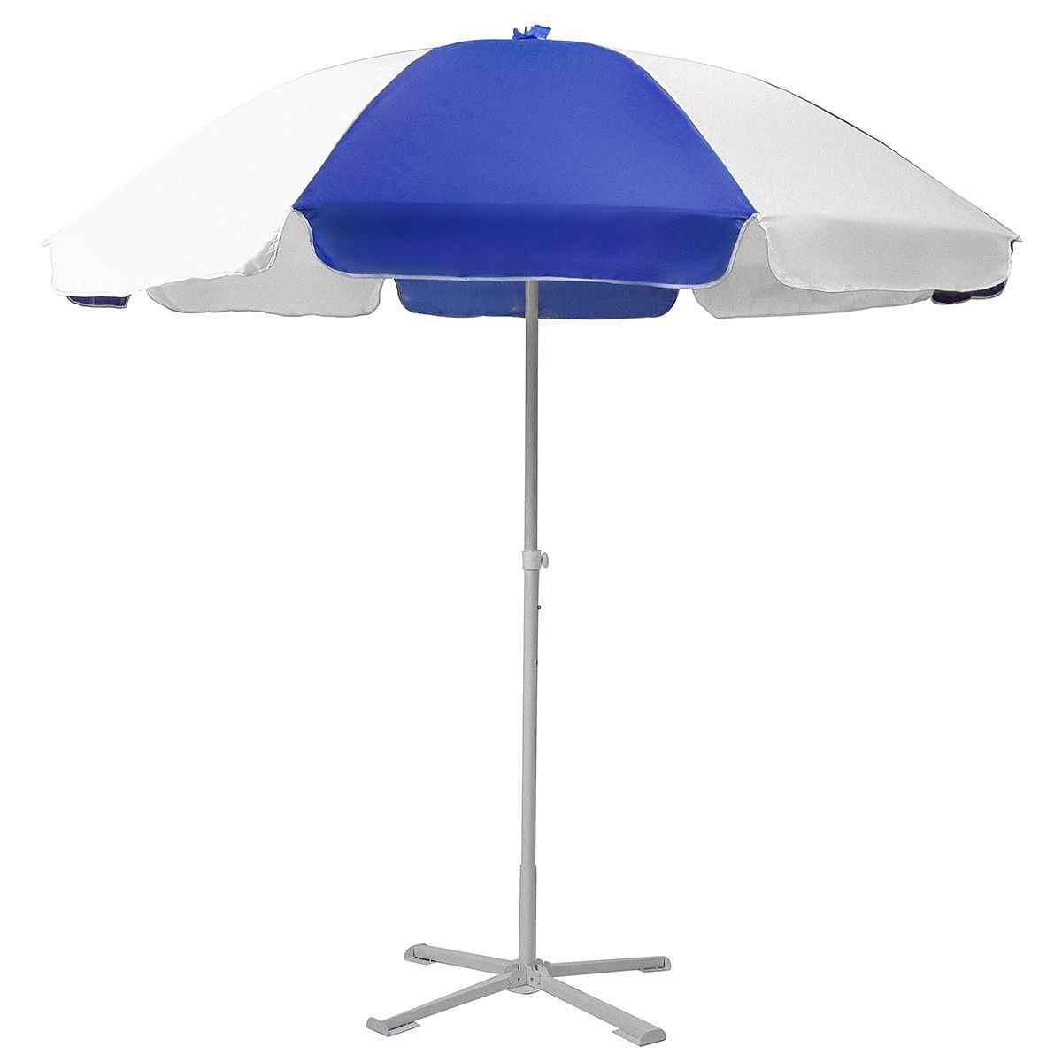 Umbrella Stand Outdoor 1.8m 2 Layer Shelf Adjustable Portable Outdoor Parasol Garden Umbrella Base Sunshade Patio Stand Sun Shelter Accessory-Green