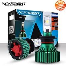Novsight H7 Led Koplampen Lampen 60W 16000LM Rijden Fog Autolichten Single Beam Mistlampen 6500K D45