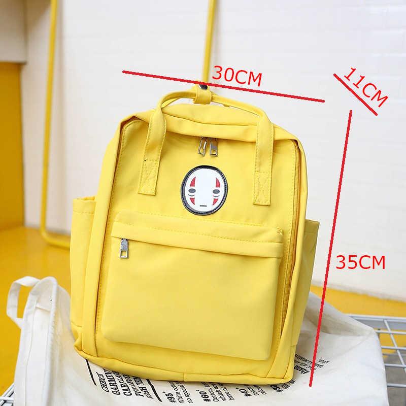 2019 جديد المرأة على ظهره حقيبة الطباعة للنساء كبيرة حقيبة ظهر مدرسية للكمبيوتر المحمول للطلاب كلية السفر حقيبة حقيبة مدرسية المرأة الأصفر