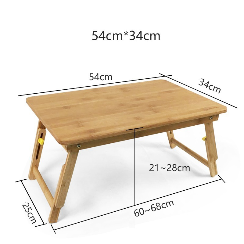 Tafel Support Ordinateur Portable Office Furniture Pliante Bambu Laptop Stand Mesa Tablo Bedside Study Table Computer Desk