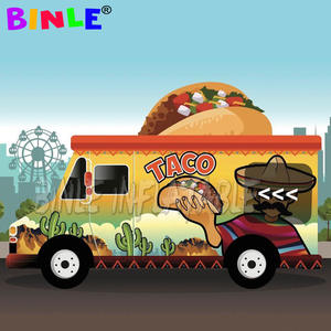 Tent Food-Truck Portable Taco for Business 15x15x8ft Car-Booth Treat-Shop Carnival