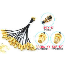 5pcs SMA Connector Cable Female to uFL/u.FL/IPX/IPEX UFL to SMA Female RG1.13 Antenna RF Cable Assembly RP-SMA-K