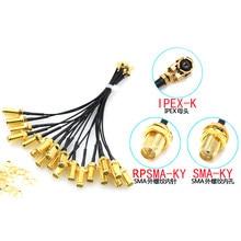 5 шт. кабель разъема SMA Female к uFL/u.FL/IPX/IPEX UFL к SMA Female RG1.13 антенна RF кабель в сборе RP-SMA-K