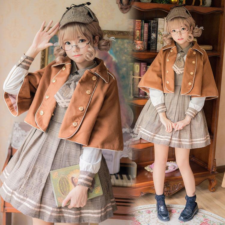 England style sweet lolita cloak palace princess cloak victorian gothic lolita outwear kawaii girl loli cosplay