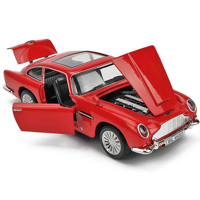 15CM 1:32 Scale Metal Alloy Martin Vintage Classic Auto Car Model Pull back Model Diecast Vehicles Toys For Children collection image