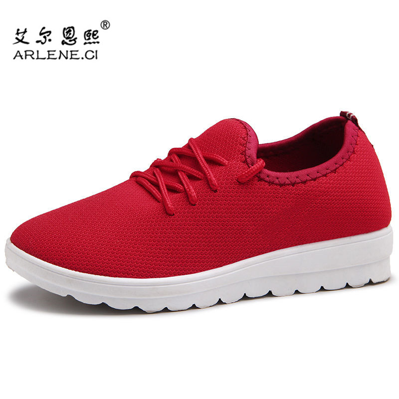 Women Running Shoes Spring Summer Air Mesh Trainers Sneakers Lace Up Woman Sport Shoes Zapatillas Mujer Chaussure Basket Femme