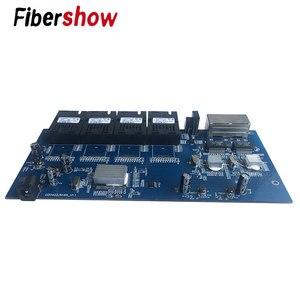 Image 5 - جيجابت محول ايثرنت الألياف البصرية التبديل 4F2E الصناعية الصف 4*1.25G الألياف ميناء 2 RJ45 10/100/1000 متر لوحة دارات مطبوعة