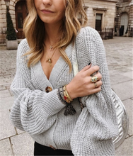 Autumn Knitted Cardigan Women 2019 V Neck Women Sweaters Long Sleeve Button Casual Korean Cardigan Sweater Winter Clothes Women button up v neck flat knitted cardigan