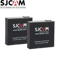 2PCS Original SJCAM SJ8 PRO Battery 1200mAh Rechargeable Li-ion Batteries for SJ Cam SJ8 Plus Action Camera for SJ8 Air