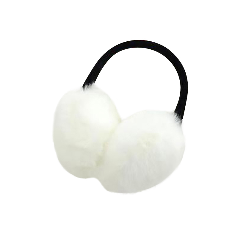 Autumn Winter Earmuffs Rabbit Fur Ears Warm Essential Accessories Fashion Imitation Fur Ears Cover Feme