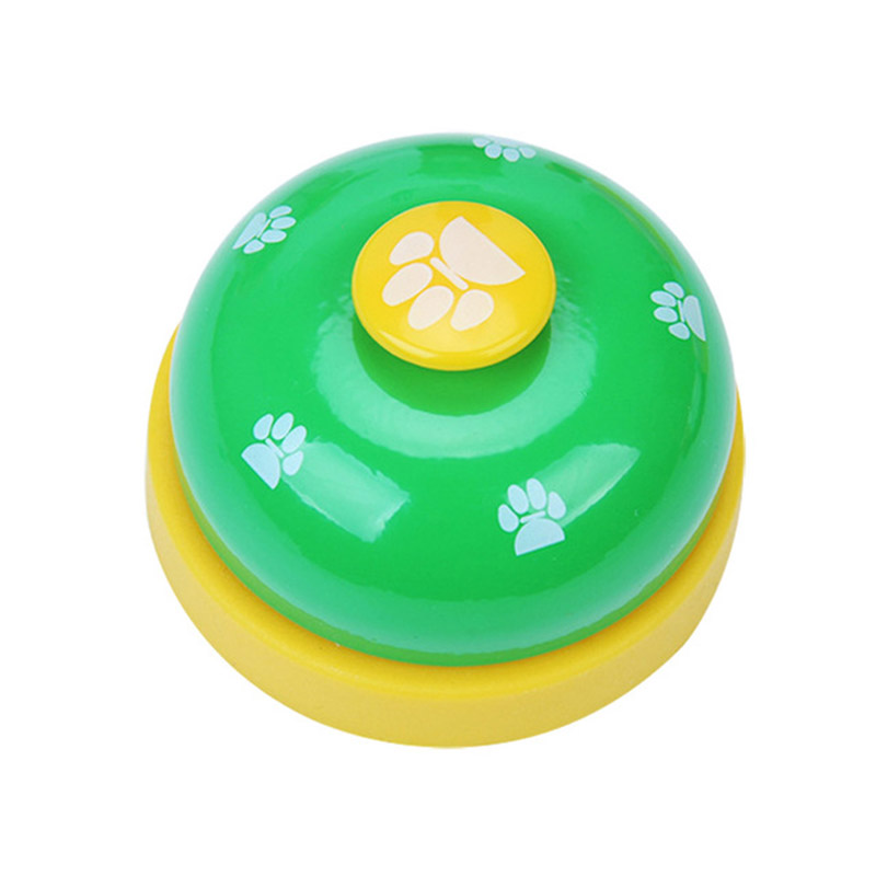 1Pcs Dog Toy Pet Toy Training Bell Responder Puppy Feeding Metal Meal Bell Cat Dog Bell Pet Supplies Interactive Training-4