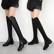 MALEMONKEY 942757 Women Boots Slim Sexy Over-The-Knee
