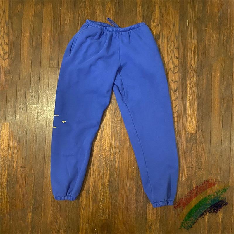Kanye Jesus Is King LA Exclusive Sweatpants Kanye West 1:1 Streetwear Autumn Winter Casual Joggers Jesus Is King Trousers Pants