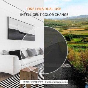 Image 2 - 1.56 1.61 1.67 (SPH  0.50 ~ 8.00) photochromic מרשם CR 39 שרף אספריים משקפיים עדשות קוצר ראיה Lentes