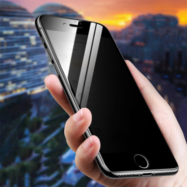 Anti Spy Tempered Glass For iPhone 12 mini 11 Pro XS Max X XR Privacy Screen protector iPhone 7 8 6 6S Plus SE 2020 Glass 3