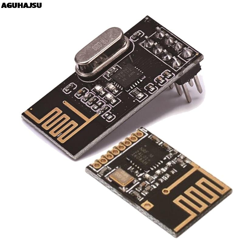 NRF24L01+ Wireless Data Transmission Module 2.4G / The NRF24L01 Upgrade Version 2Mbit/s NRF24L01 Socket Adapter Plate Board