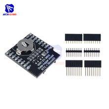 Diymore WeMos D1 Mini WiFi pokładzie gniazdo karty Micro SD rejestrator danych tarcza RTC DS1307 zegar czasu rzeczywistego moduł dla Arduino Raspberry