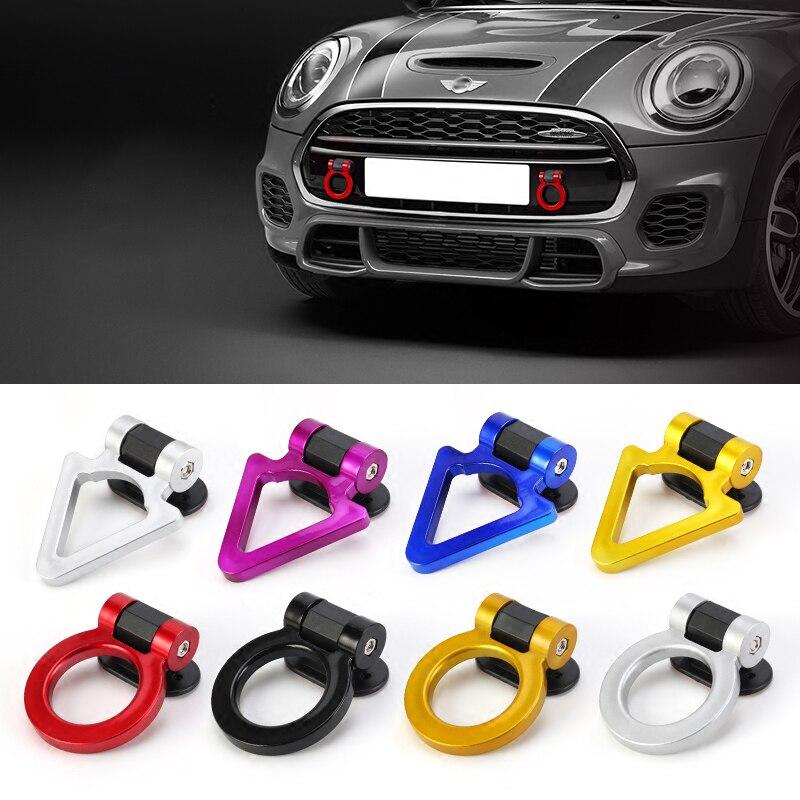 Automobile Trailer Hitch Decoration Car Styling Accessories For BMW MINI COOPER S ONE JCW CLUBMAN F54 F55 F56 F60 R55 R56 R60