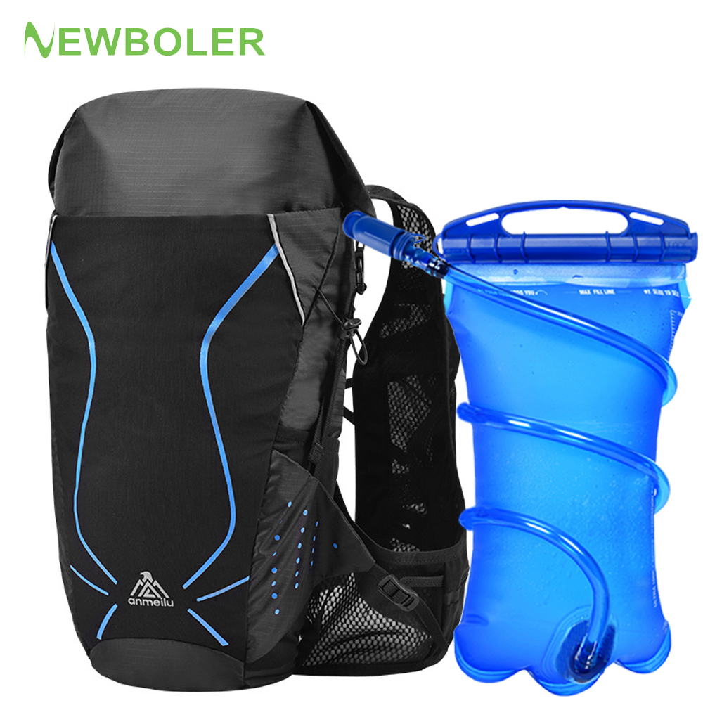 18L Women Men Marathon Hydration Vest Pack For 3L Water Bag Running Hiking Bag Outdoor Sport Cycling Backpack Rucksack