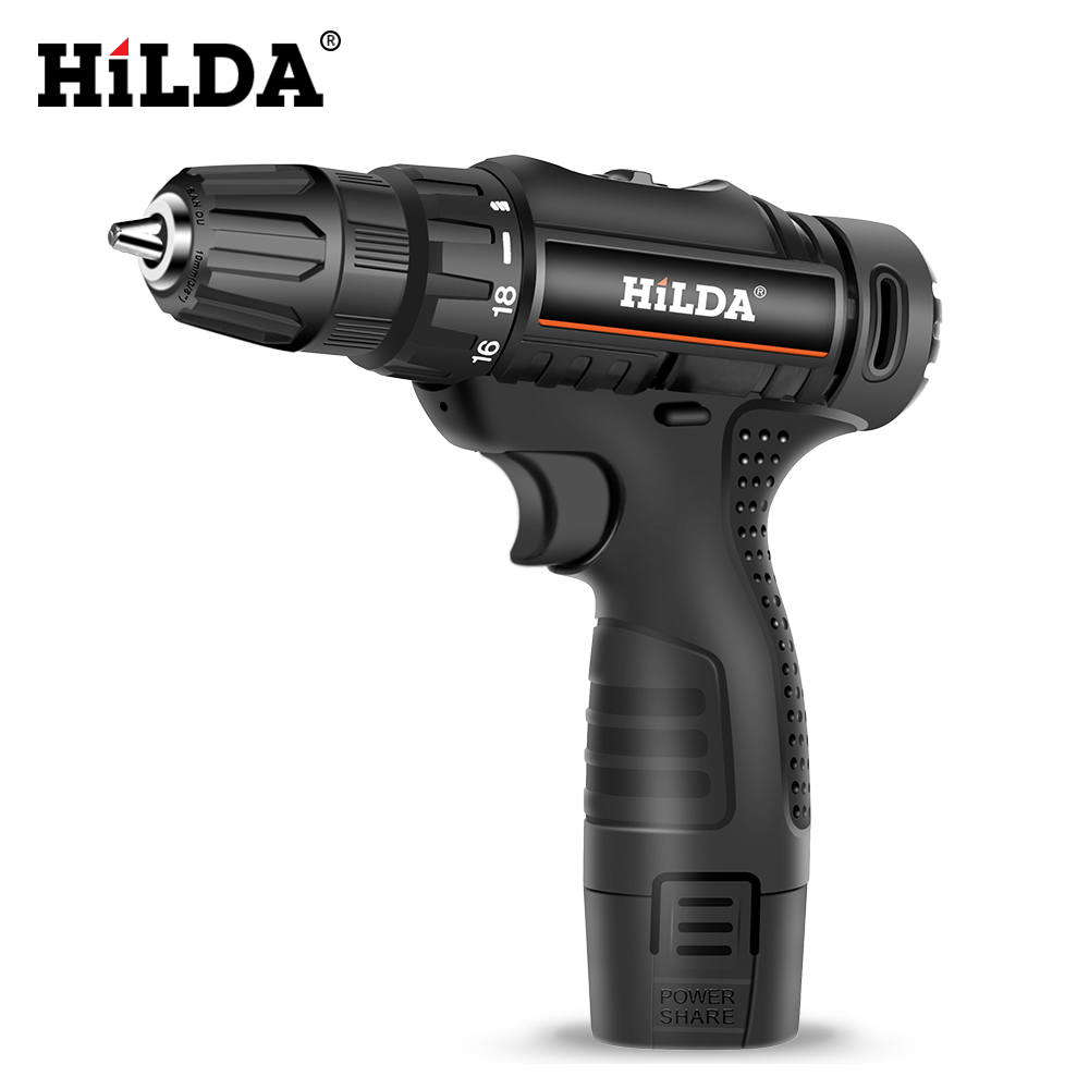 12V Electric Screwdriver Electric Drill Lithium Battery Cordless DC Double Speed Home Diy Mini Drill Power Tools