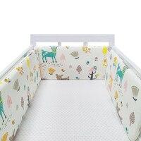 Design estrela dobrável cama do bebê amortecedor de algodão berço do bebê almofada proteção multicolorido berço amortecedores no berço para recém-nascidos